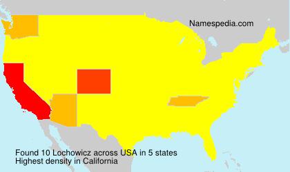 Surname Lochowicz in USA