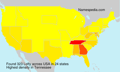 Surname Lofty in USA