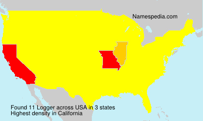 Surname Logger in USA