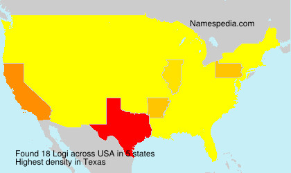 Surname Logi in USA