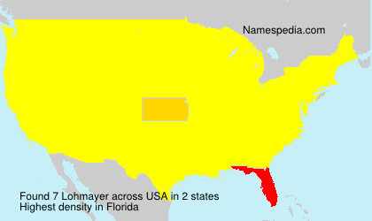 Surname Lohmayer in USA