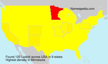 Familiennamen Loidolt - USA