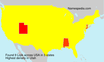 Surname Lojik in USA