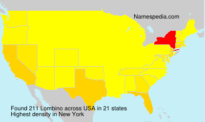 Surname Lombino in USA