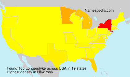 Surname Longendyke in USA