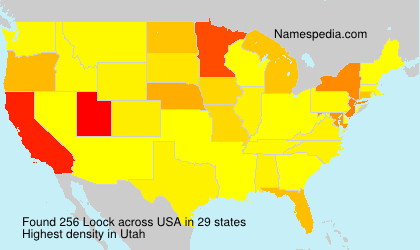 Surname Loock in USA