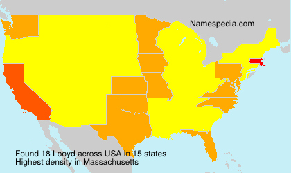 Surname Looyd in USA
