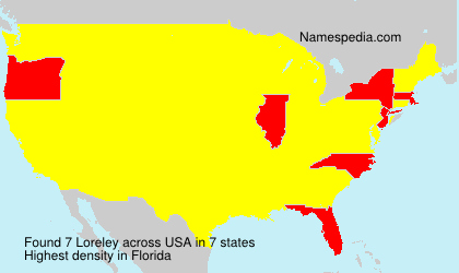 Surname Loreley in USA
