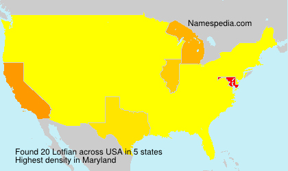 Surname Lotfian in USA