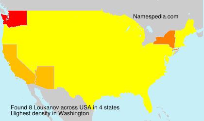 Surname Loukanov in USA