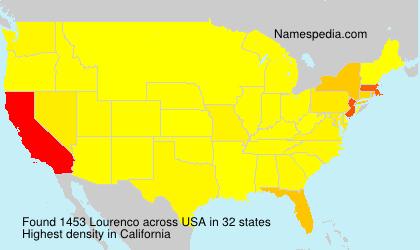 Familiennamen Lourenco - USA