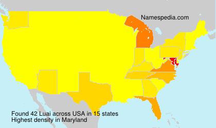 Surname Luai in USA
