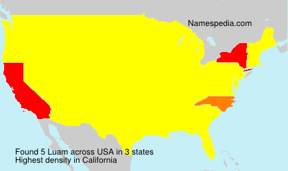 Surname Luam in USA