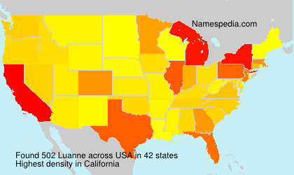 Surname Luanne in USA