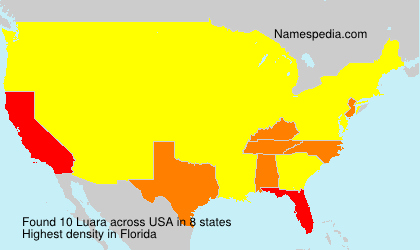 Surname Luara in USA