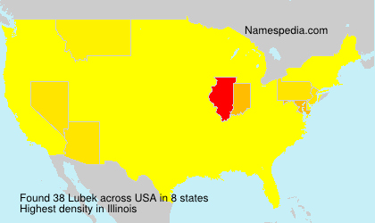 Surname Lubek in USA