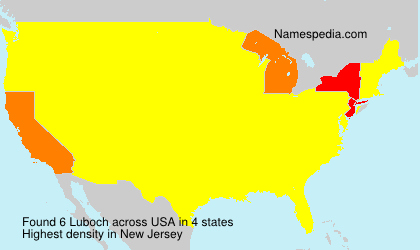 Surname Luboch in USA