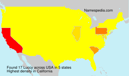 Surname Luccy in USA