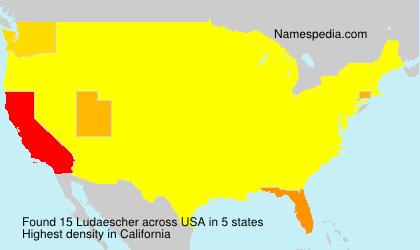 Surname Ludaescher in USA