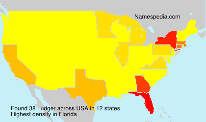 Surname Ludger in USA