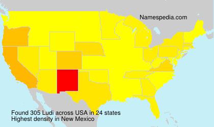 Surname Ludi in USA