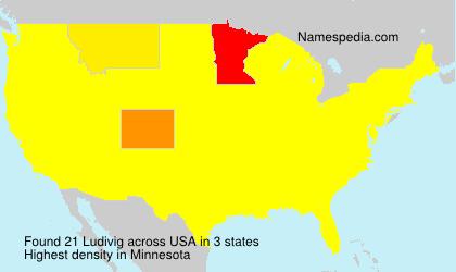Surname Ludivig in USA