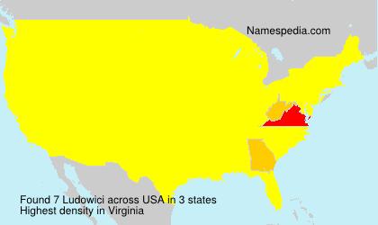 Familiennamen Ludowici - USA
