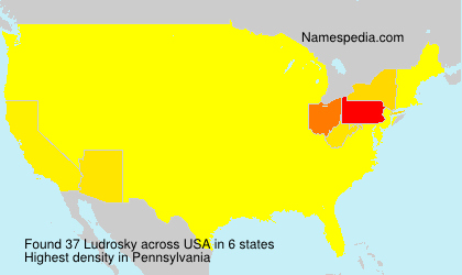 Surname Ludrosky in USA