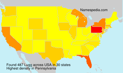Surname Lugg in USA