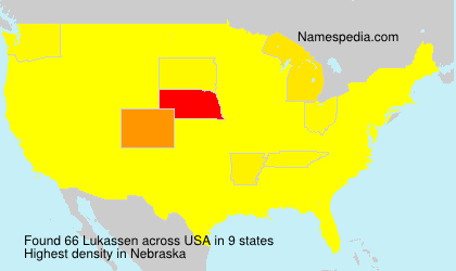 Surname Lukassen in USA