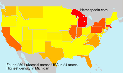 Surname Lukomski in USA