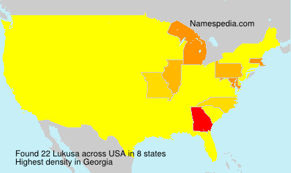 Surname Lukusa in USA