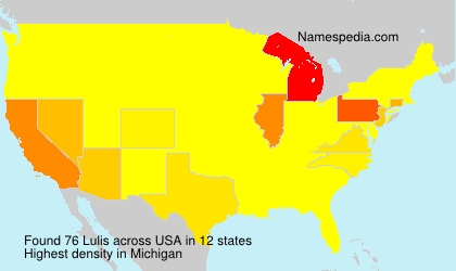 Surname Lulis in USA