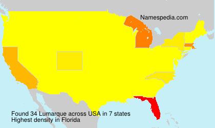 Surname Lumarque in USA