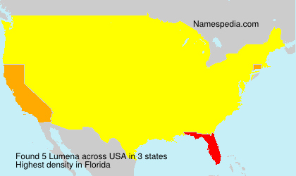 Surname Lumena in USA
