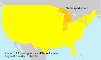 Surname Lumeng in USA