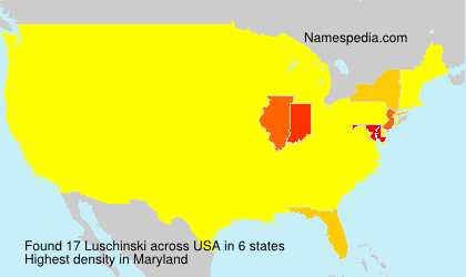 Familiennamen Luschinski - USA