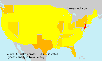 Surname Luska in USA