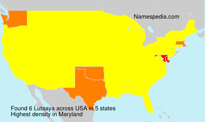 Surname Lutaaya in USA