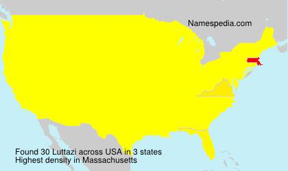 Surname Luttazi in USA