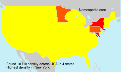 Familiennamen Luzhansky - USA