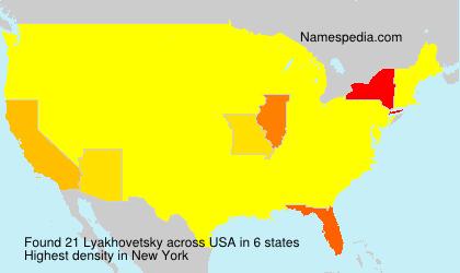 Lyakhovetsky - USA