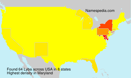 Surname Lyba in USA