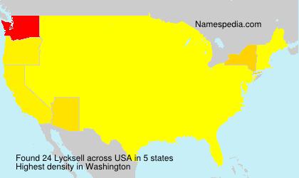 Lycksell - USA