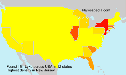 Surname Lyko in USA