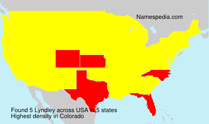 Surname Lyndley in USA