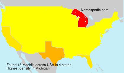 Machlik - USA
