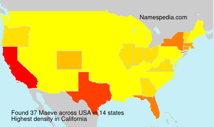 Surname Maeve in USA