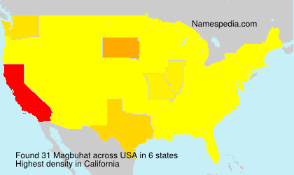 Surname Magbuhat in USA
