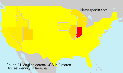 Surname Maglish in USA